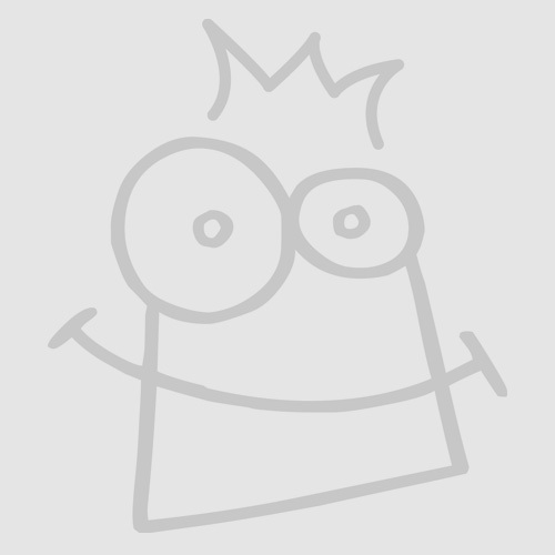 Glitter Hart Stickers in Pastelkleuren