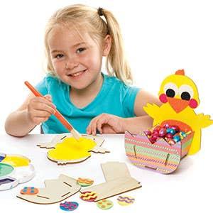 Easter Basket Making